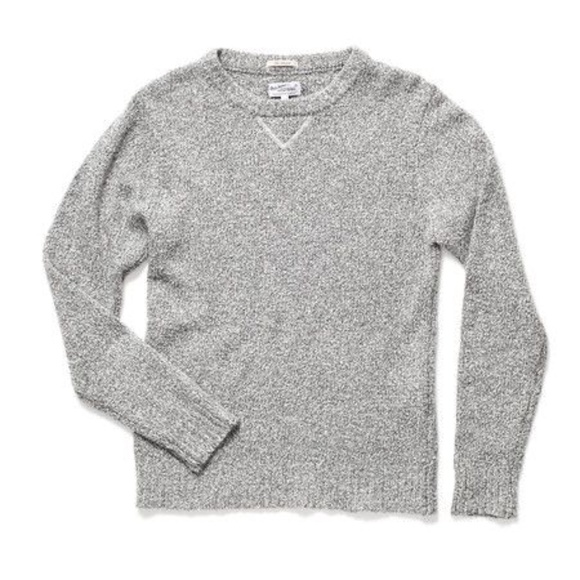 Gant Rugger - The Boucle Pullover Sweater in Gray